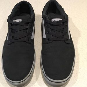 MENS Vans off the wall shoes black & Gray 12